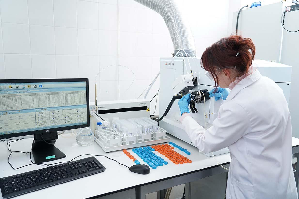 Laborator de analize fizico chimice