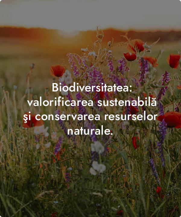 Conservarea si valorificarea sustenabila