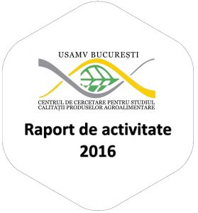 Raport de activitate 2016